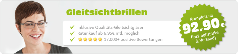 Gleitsichtbrillen - Randlos - gold - Business
