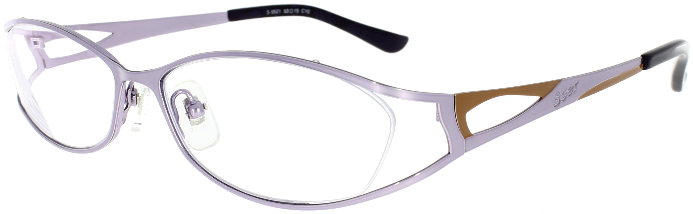 Vorschaubild von Brille mit außergewöhnlicher Farbkombination
