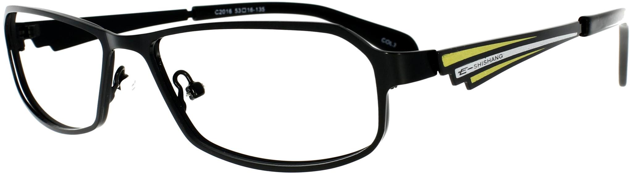 Vorschaubild von Schwarzer Brillen Klassiker - Vollrandbrille