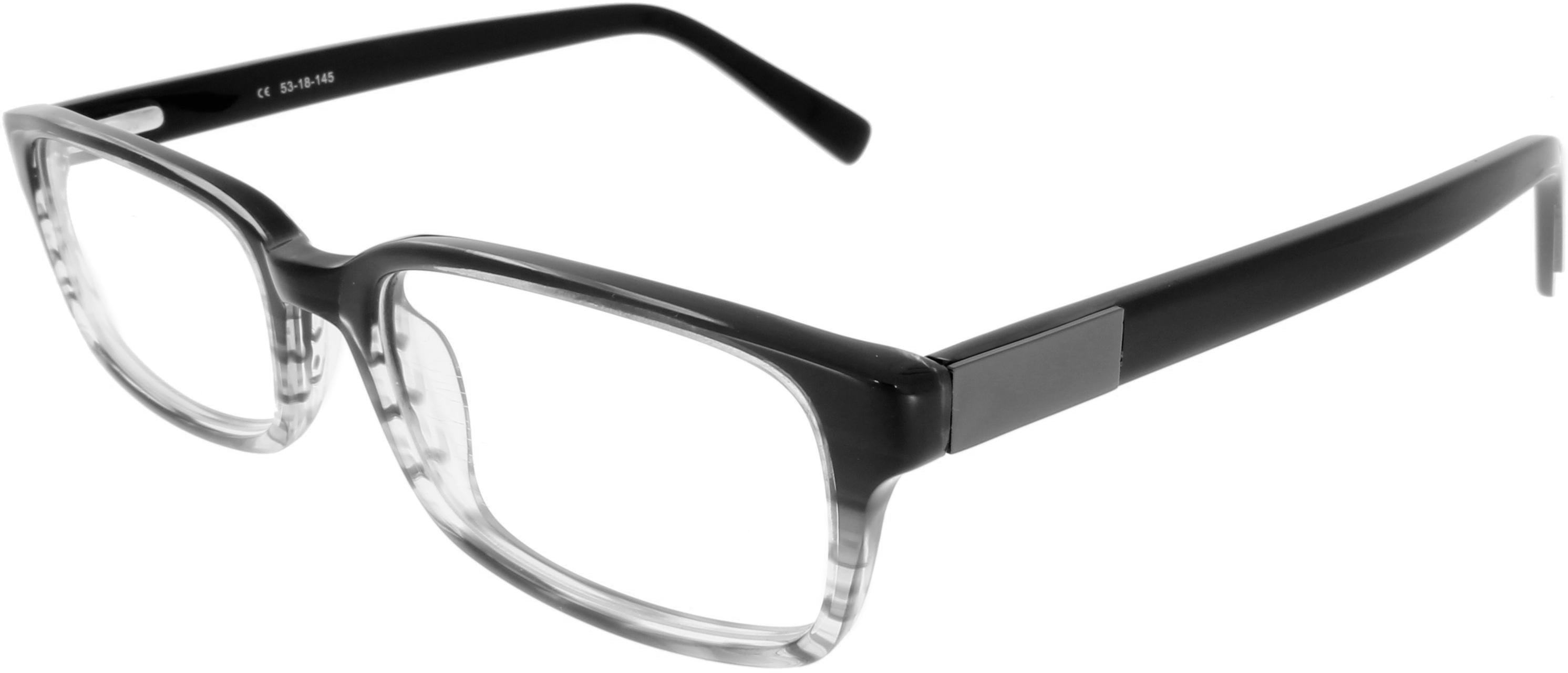 Vorschaubild von Kastenförmige Brille mit Farbverlauf