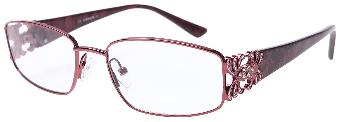 Arbeitsplatzbrille für Damen in Rot