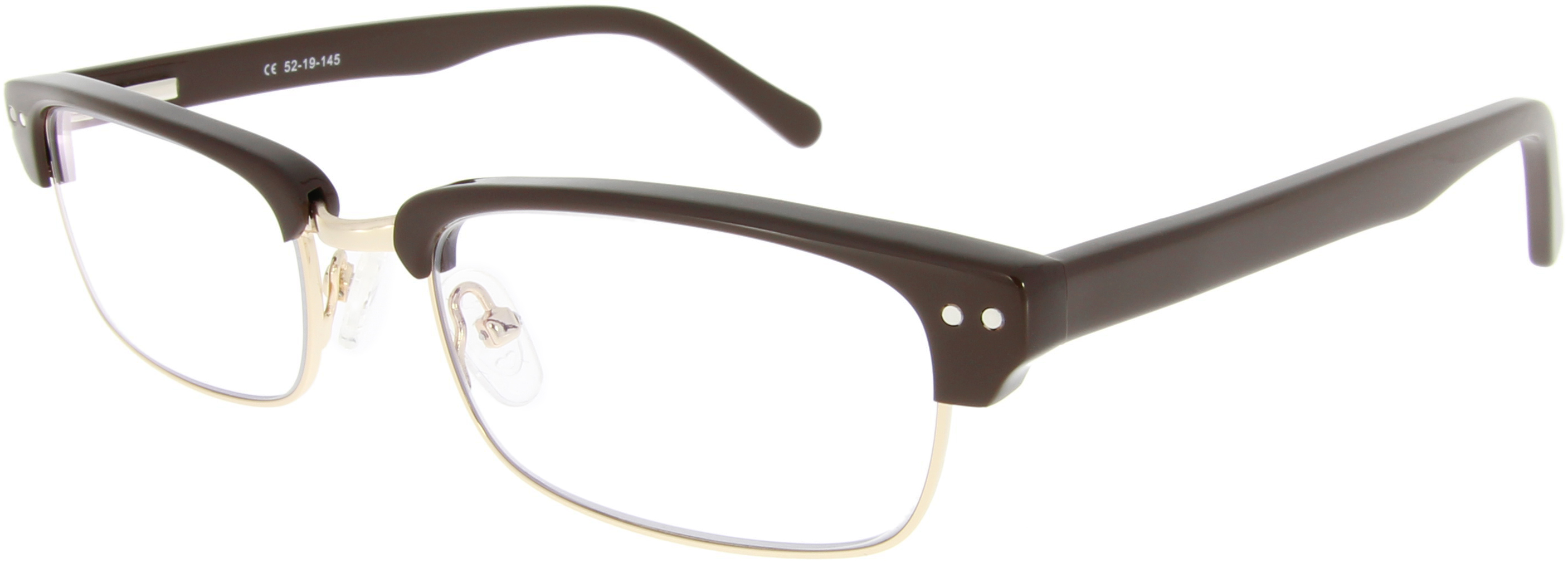 Vorschaubild von Browline Brille in Braun