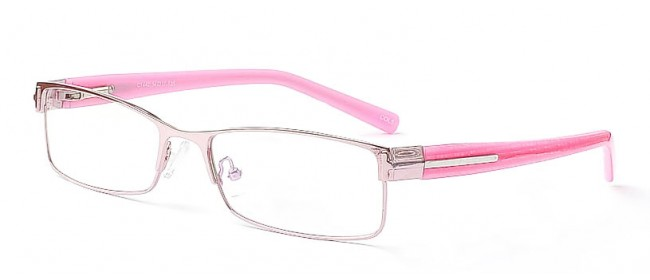 Fashionbrille in Pink - Schmale Brillenfront