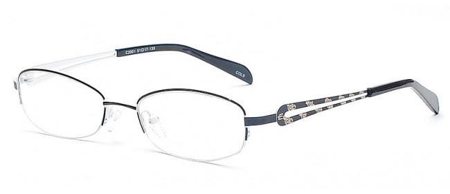 Hübsche & edle Halbrandbrille