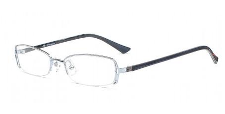 Topmodische Halbrandbrille - Edle Brillenfront