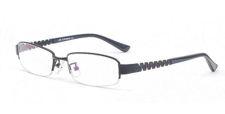 Halbrandbrille - Bügel mit zickzack-förmigen Verlauf