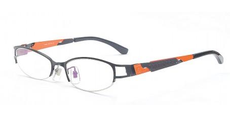 Damen Fashionbrille mit leicht ovalen Gläsern