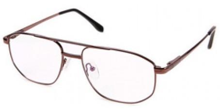 Herren Gleitsichtbrille mit großen auffälligen Gläsern