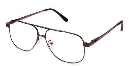 Herren Brille mit tropfenförmigen Gläsern