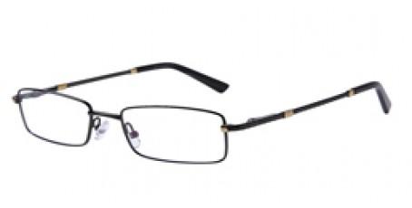 Graue Vollrandbrille aus Metall