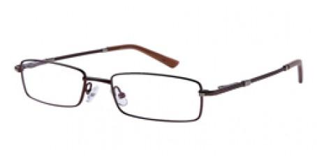 Braune Vollrandbrille aus Metall