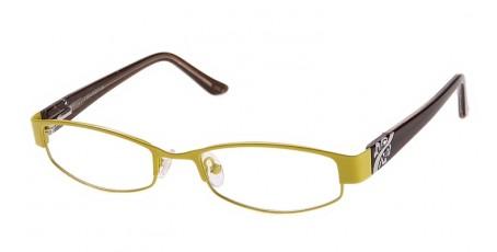 Damen Brille mit Vollrand - Gelb & Braun