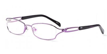 Hübsches Brillenmodell - Lila / Schwarz Farbkombination
