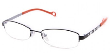 Damen Fashionbrille - Bügel in Orange