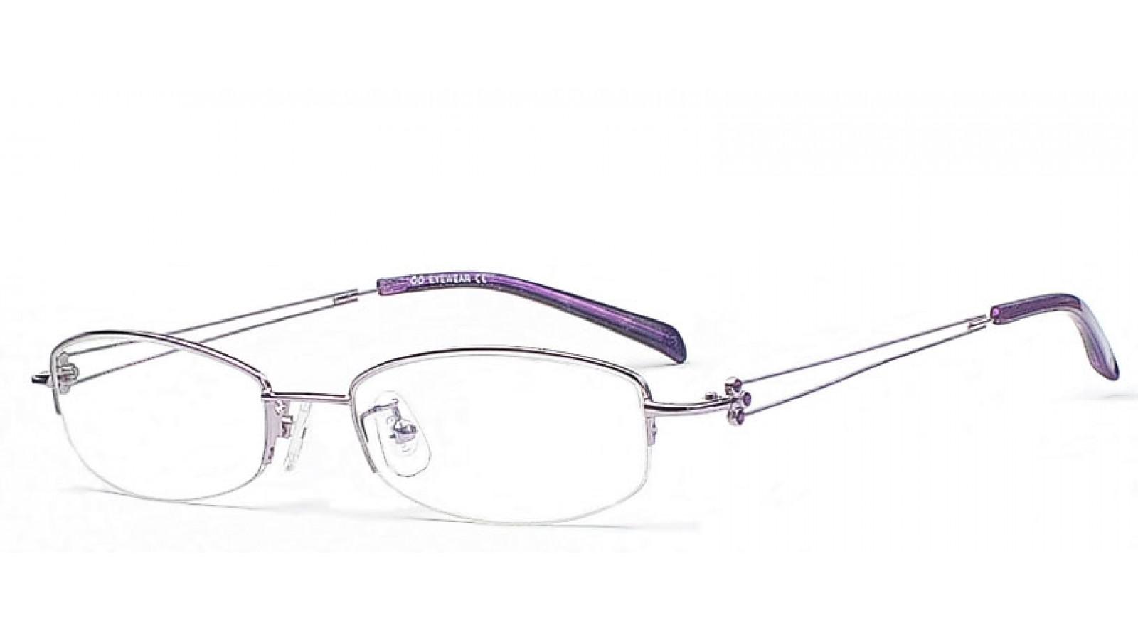 Brillen in der Farbe Lila - Brillen in Lila