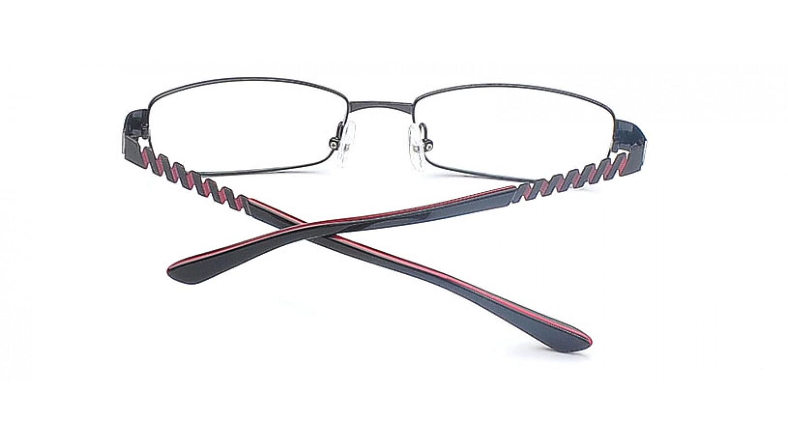 Brille in Schwarz - Eleganter & schmaler Brillenrand