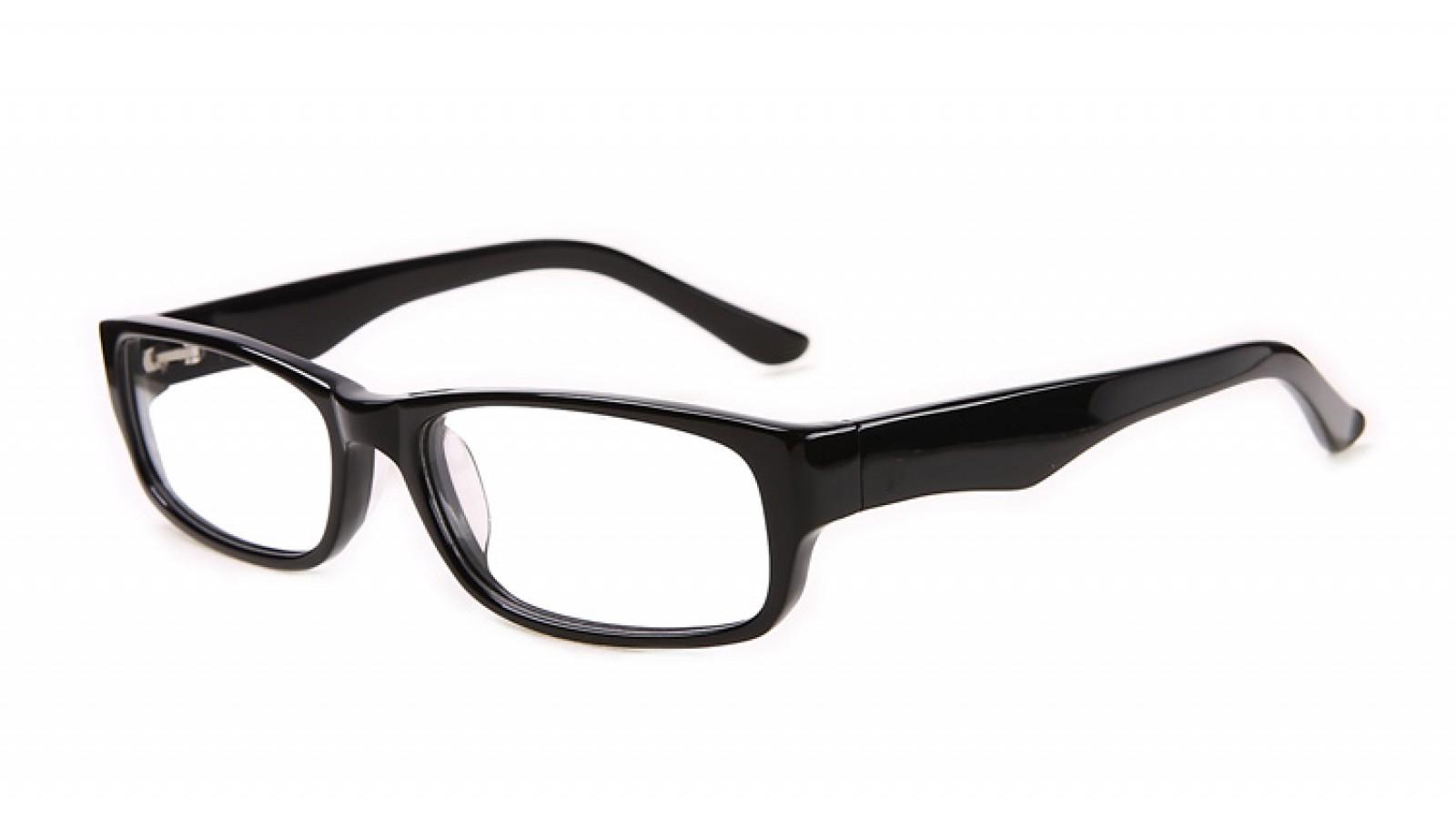 Schwarze Brillenfassung für Herren pX7gva