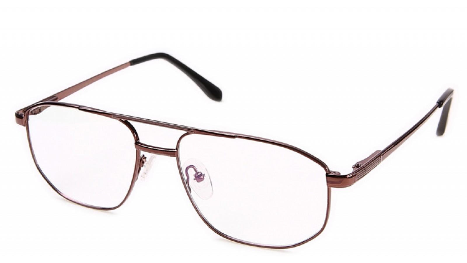 Herren Brille mit großen auffälligen Gläsern