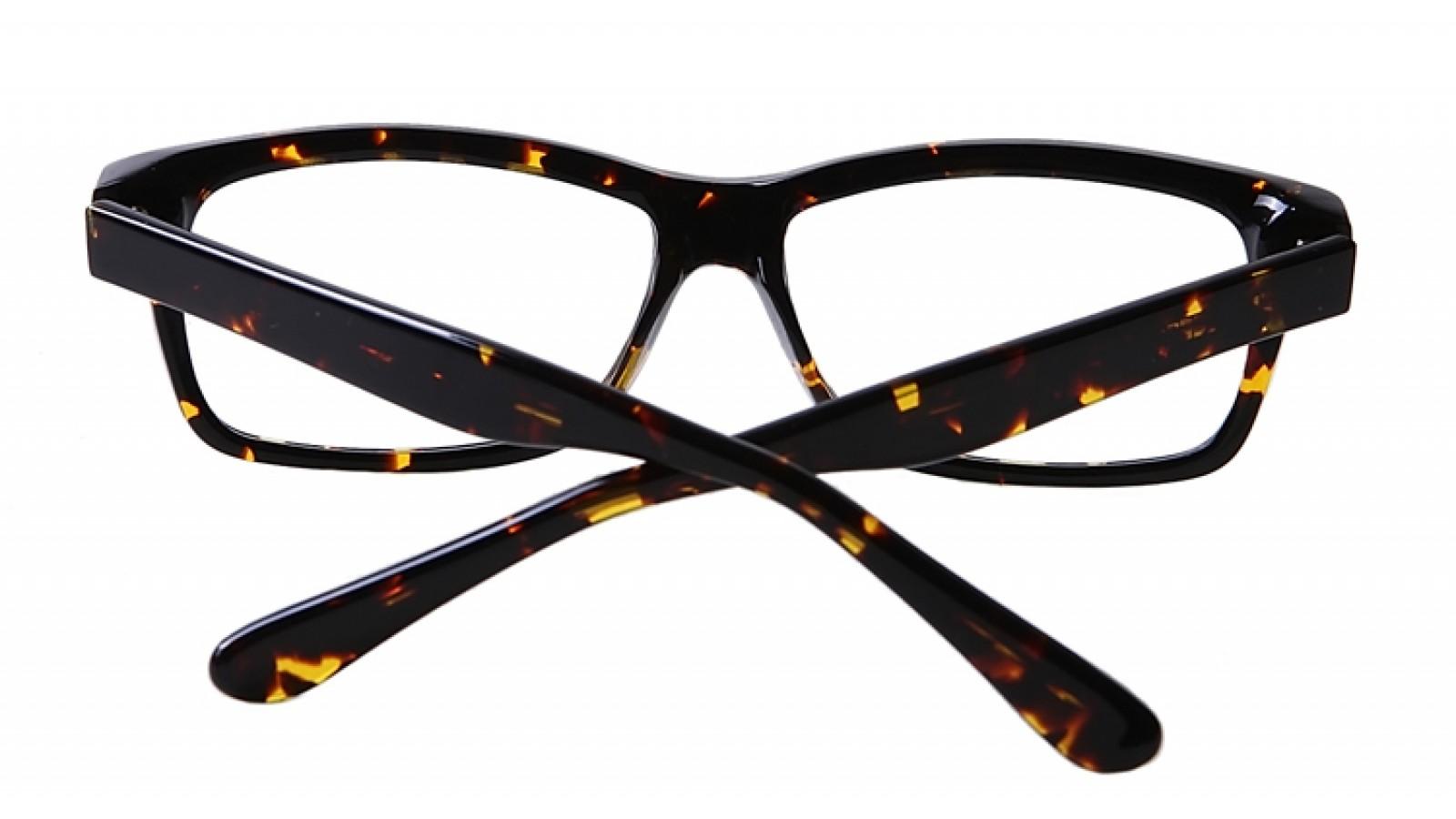 Gro E Nerd Gleitsichtbrille Aus Kunststoff In Nussbraun