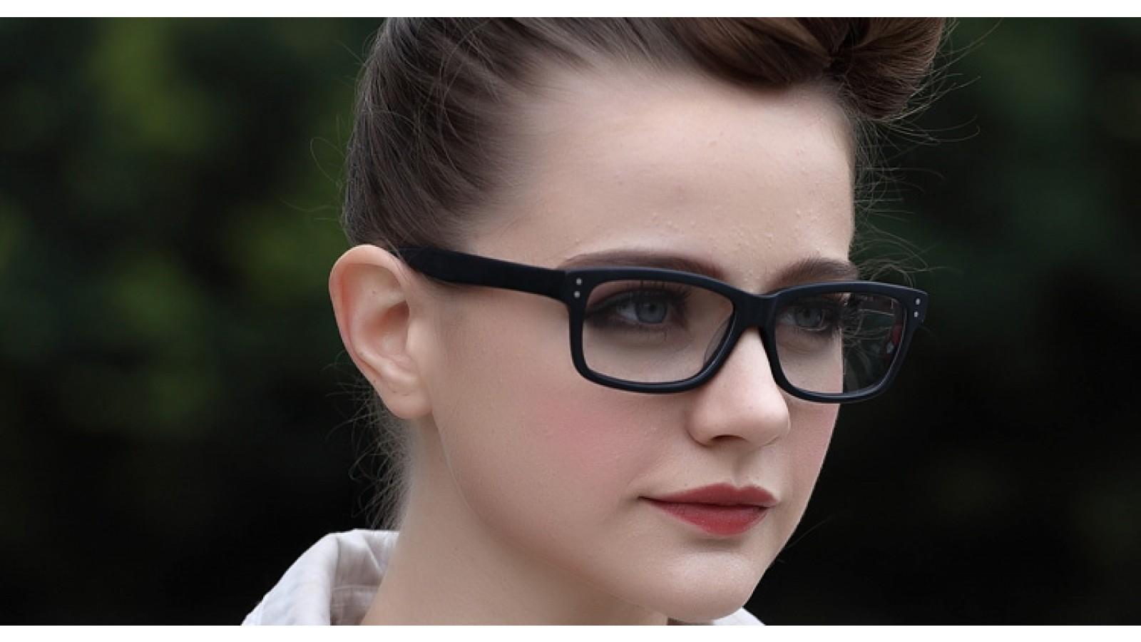 Gro E Nerd Gleitsichtbrille Aus Kunststoff In Schwarz