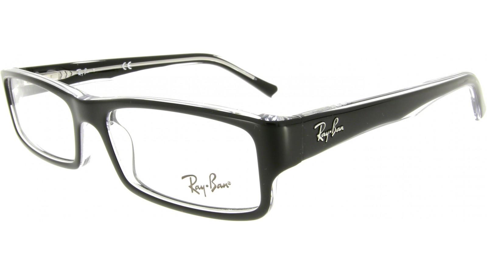 ray ban brille rx 5246 weiß