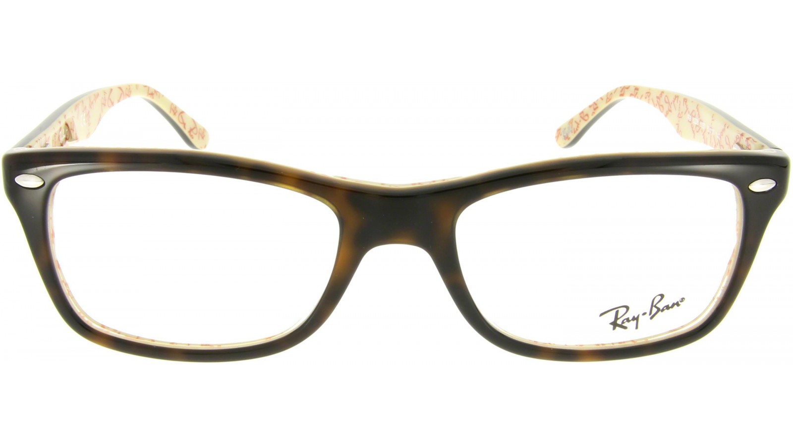 ray ban brille braun grün