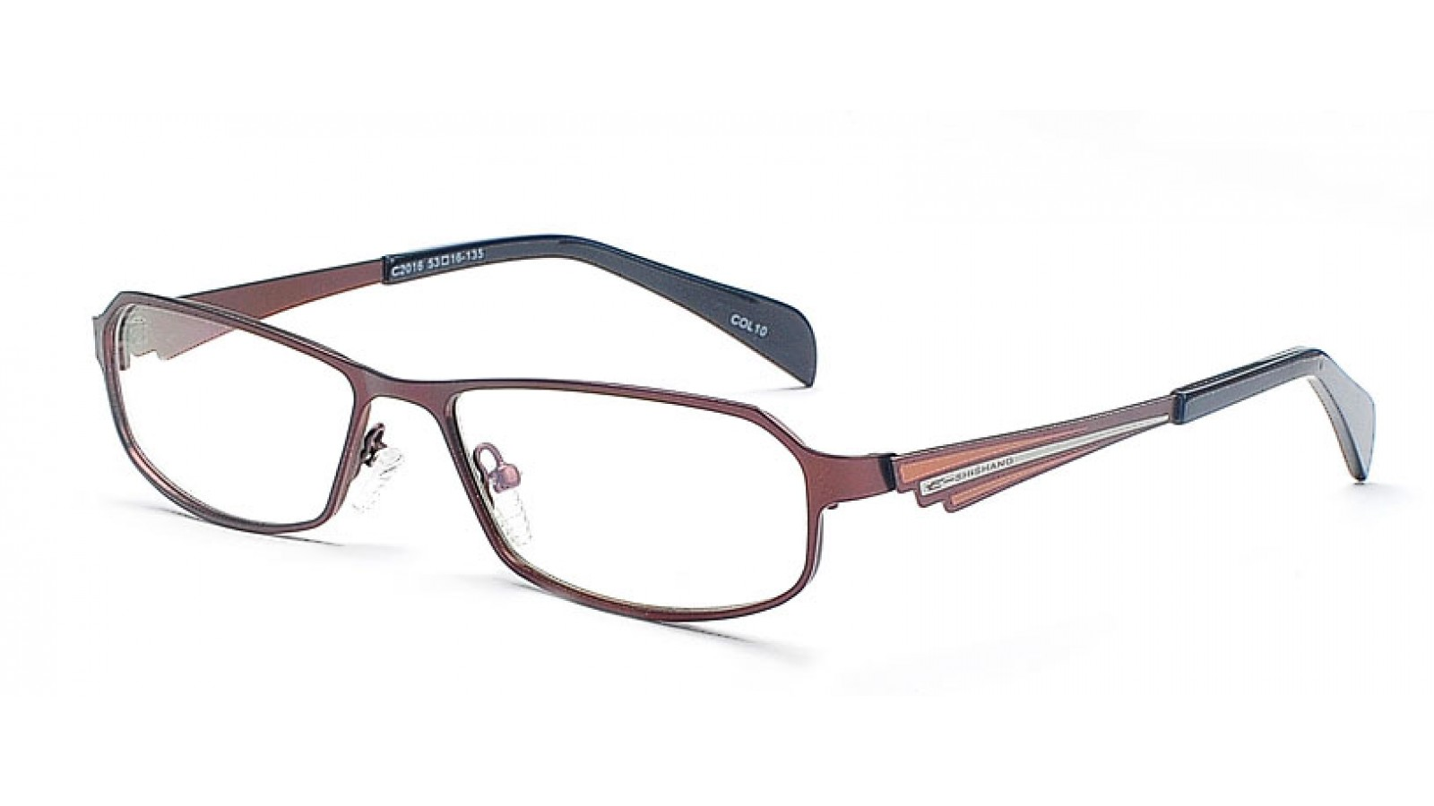 Vollrandbrille - Schön geformte Brillenfassung