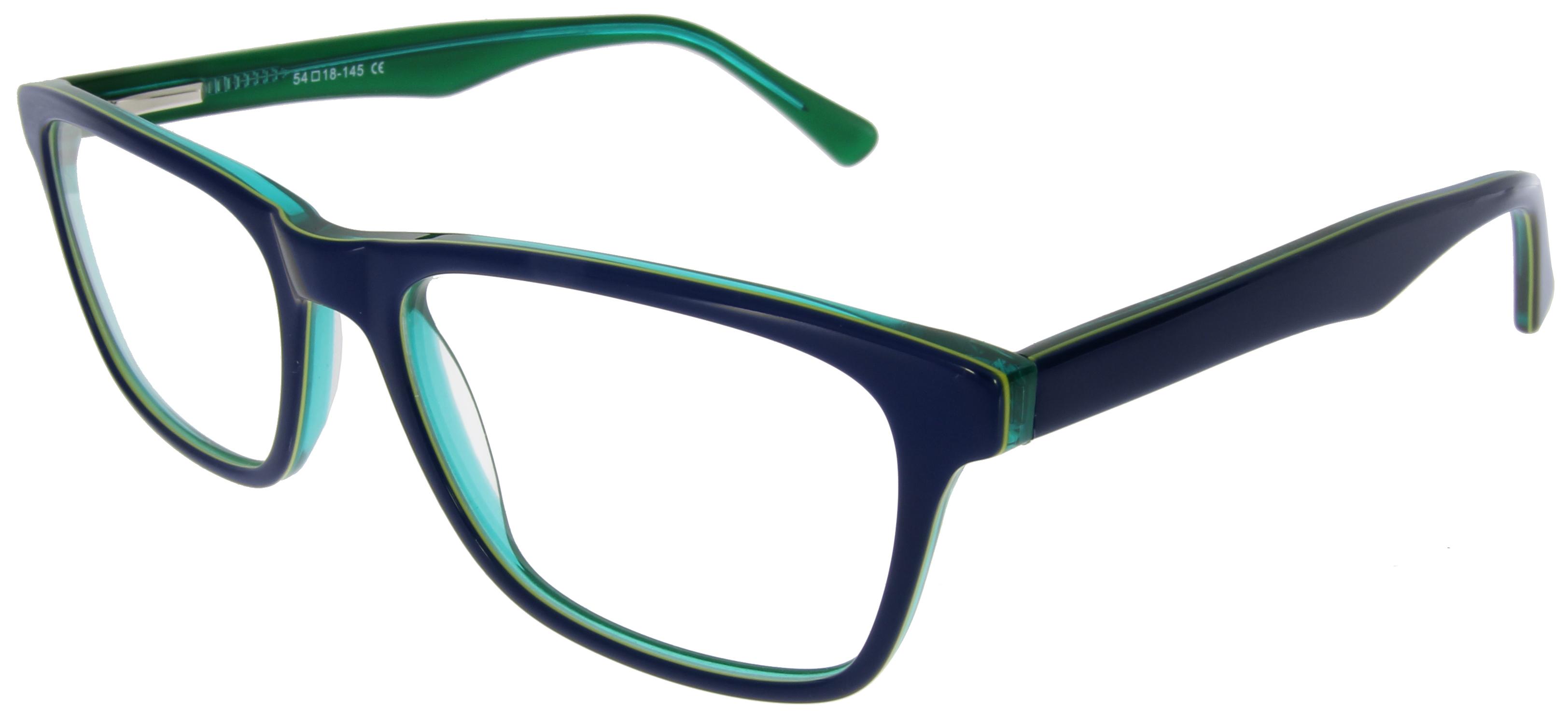 Young Fashion Wayfarer-Brille für Damen und Herren