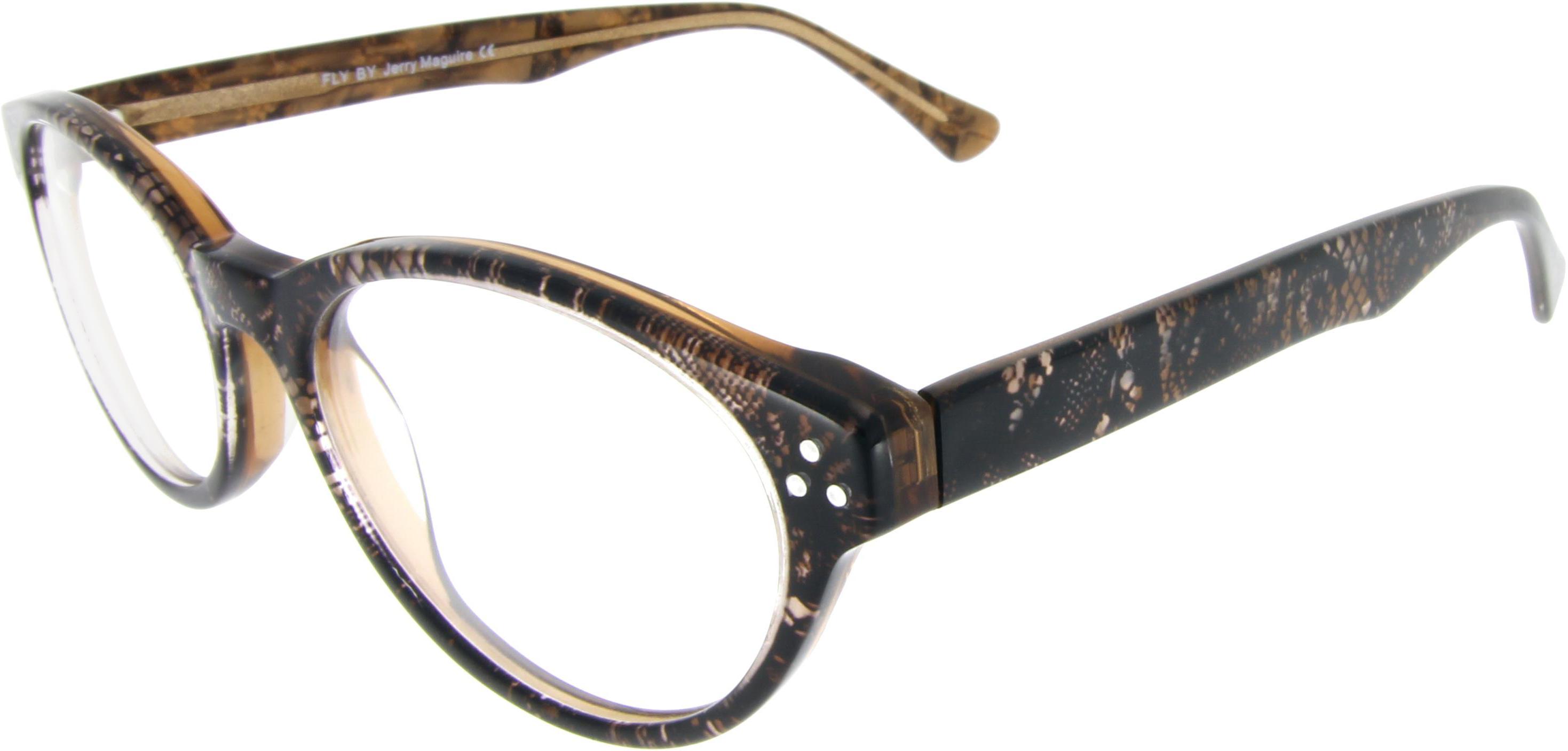 Arbeitsplatzbrille im Schlangen-Design