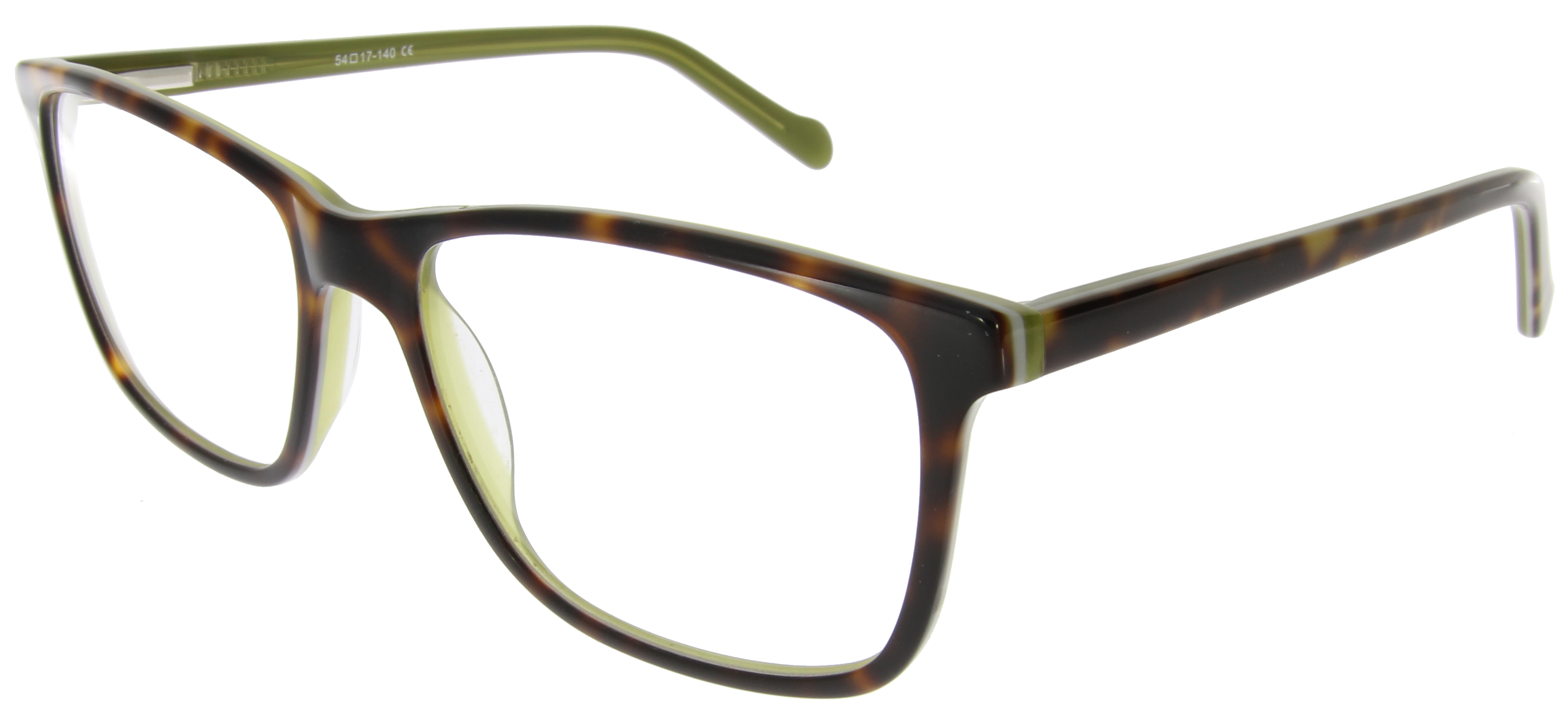 Brillen in der Farbe Grün - Grüne Brillen