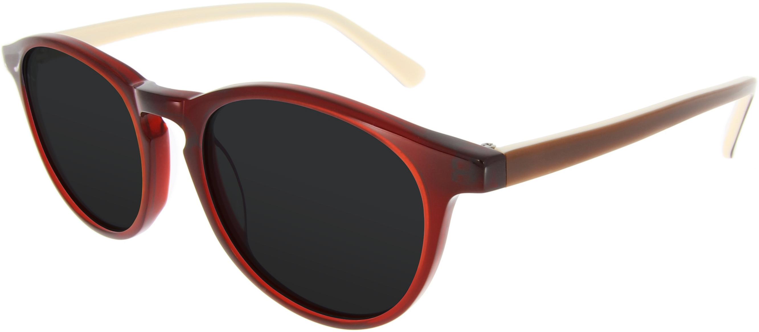 73 schmale sonnenbrille mit runden gl sern 39 90. Black Bedroom Furniture Sets. Home Design Ideas