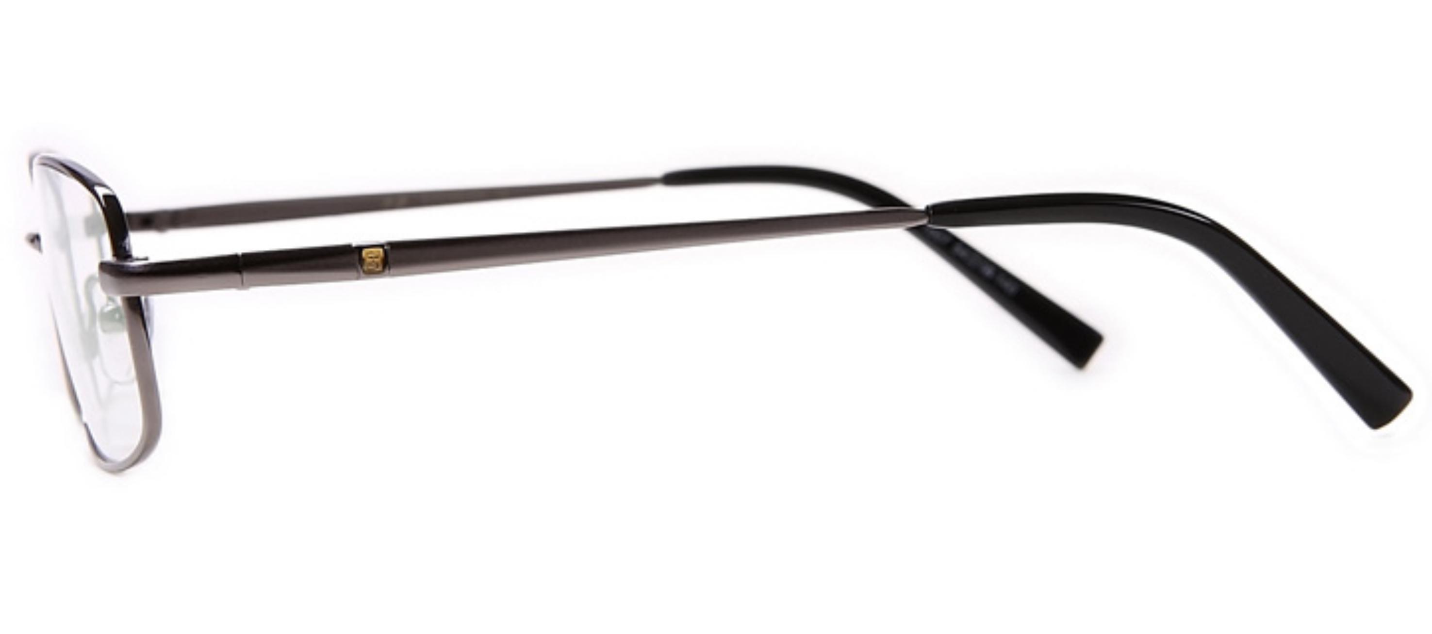 Graue Arbeitsplatzbrille mit Stil