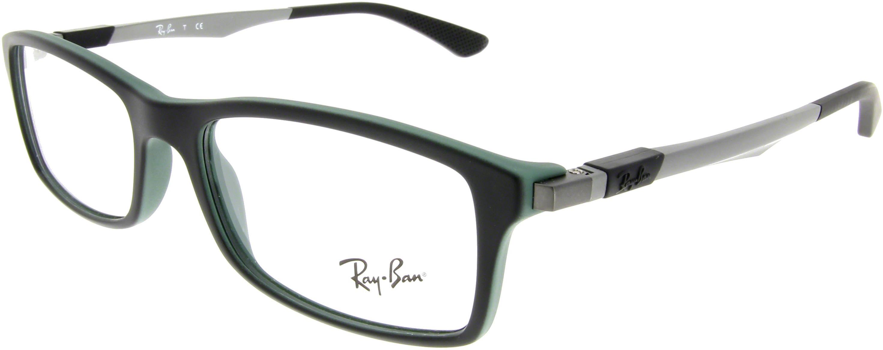 RAY BAN RAY-BAN Herren Brille » RX7017«, schwarz, 5197 - schwarz