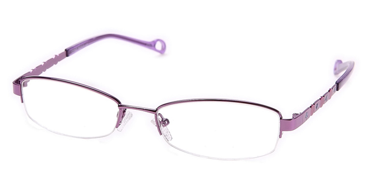 Zweifarbige Damen Fashion Brille