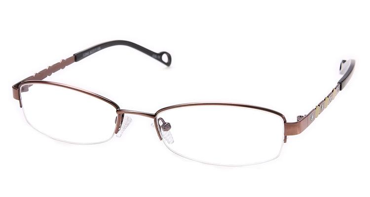 Damen Brille mit glitzernden Sternen