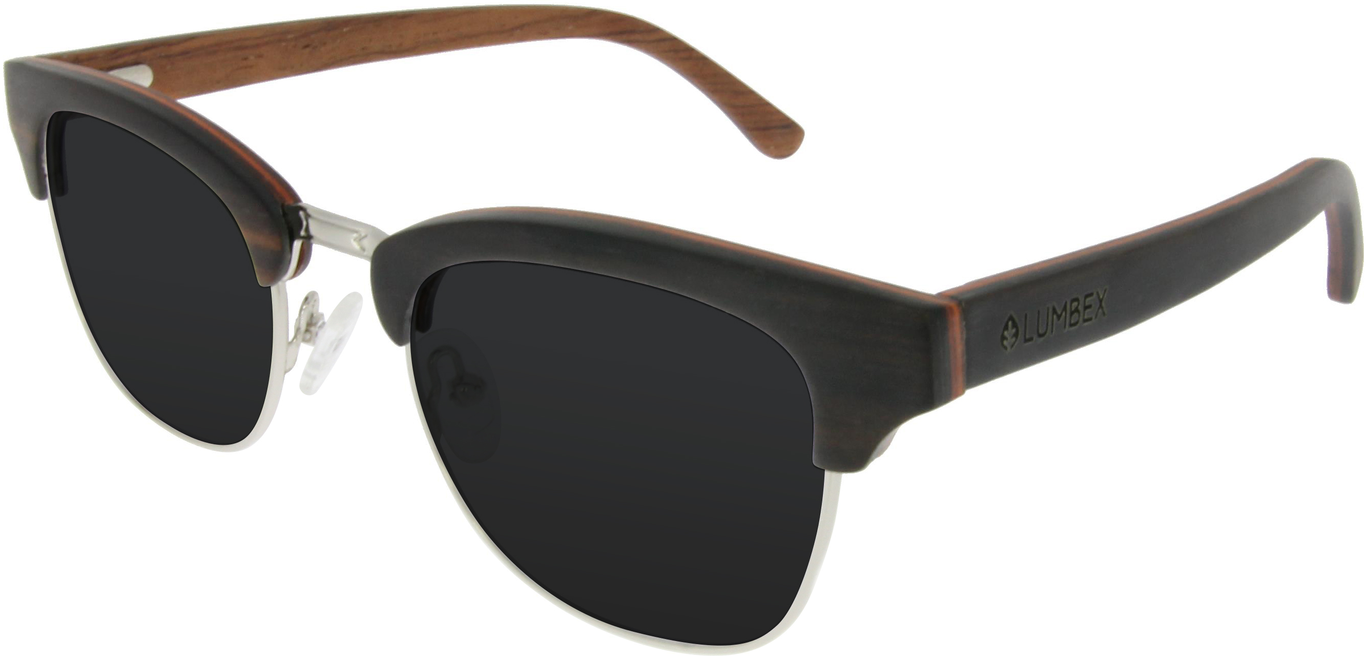 unisex brille im browline style aus holz damen brillen. Black Bedroom Furniture Sets. Home Design Ideas