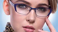 Brillen in Blau