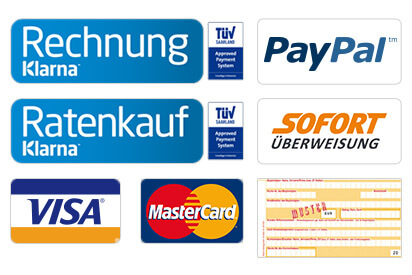 Übersicht der Zahlungsarten