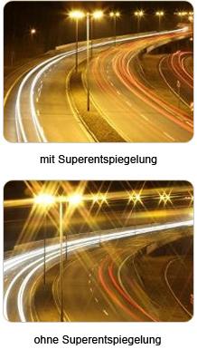 Brillenglas-Beschichtungen_Superentspiegelung