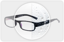 Brillenglas-Beschichtungen-Lotuseffekt